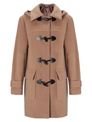 Four Seasons Plain Duffle Coat Biscuit