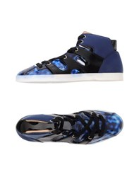 Emporio Armani Footwear High Tops And Trainers Women Blue