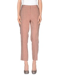 Niu' Trousers Casual Trousers Women Skin Colour