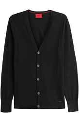 Hugo Cotton Silk Cardigan
