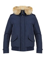 Woolrich Polar Weather Resistant Down Parka Blue