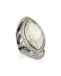 Marquise Crystal Cocktail Ring St. John Collection
