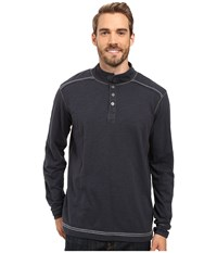 Ecoths Max Pullover Ombre Blue Men's Long Sleeve Pullover Navy