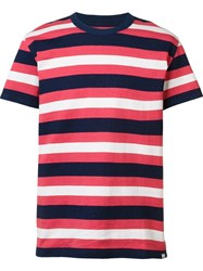 Visvim Striped T Shirt Red