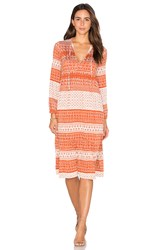 Rachel Pally Kaemon Dress Rust