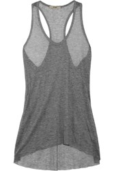Helmut Lang Voltage Fine Knit Ribbed Micro Modal Tank