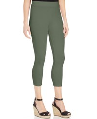 Styleandco. Style And Co. Cropped Leggings Olive Spring