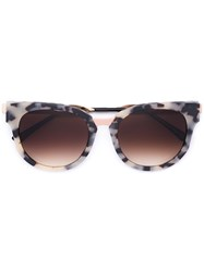 Thierry Lasry 'Affinity' Sunglasses Brown