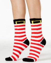Charter Club Women's Holiday Stocking Butter Socks Only At Macy's Red