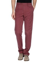 Brooksfield Casual Pants Maroon