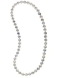 Irene Neuwirth Rosecut Rainbow Moonstone Necklace Black