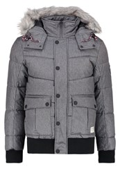 Tom Tailor Denim Winter Jacket Somber Grey Dark Grey