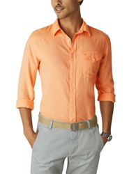 Dockers Solid Sportshirt Orange