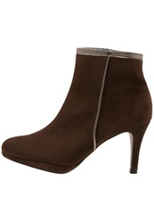 Peter Kaiser Carmina Ankle Boots Bronzo Dark Brown