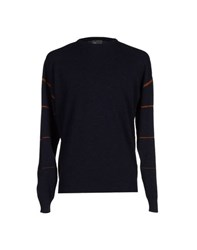 Balenciaga Knitwear Jumpers Men Dark Blue