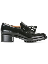 Church's Chunky Heel Loafers Black