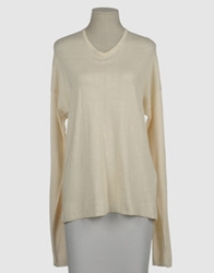 J's Exte' Long Sleeve Sweaters Ivory