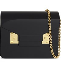 Sophie Hulme Compton Box Clutch Black