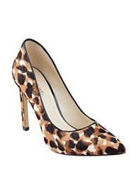 Nine West Tatiana Hair Calf Dress Pumps Multi