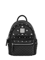 Mcm Mini Bee Boo Leather Backpack