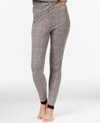 Cuddl Duds Softwear Lace Leggings Cheetah Leopard