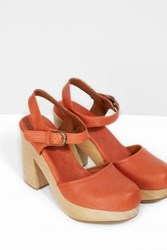 Rachel Comey Dekalb Mary Jane Sandals Brown