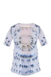 Raquel Allegra Shredded T Shirt Multi