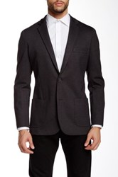 14Th And Union Knit Herringbone Jacket Black