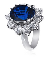 Carat Royal Engagement Sapphire Ring Female