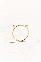Urban Outfitters Shia Symbol Ring Gold Cat