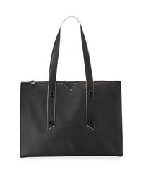 Botkier Murray Hill Leather Tote Bag Black
