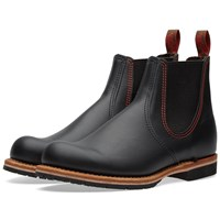 Red Wing Shoes Red Wing 2918 Chelsea Rancher Boot Black