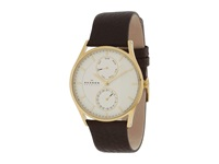 Skagen Sonder Gold Brown Watches Multi