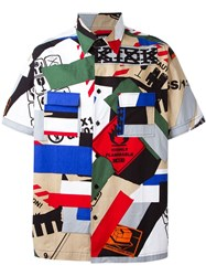 Ktz 'Paper Tape' Shirt Multicolour