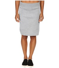 Dale Of Norway Knit Skirt Grey Melange Women's Skirt Gray