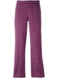 P.A.R.O.S.H. 'Seventy' Trousers Pink And Purple