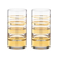 Kate Spade Hampton Street Hiball Tumblers Set Of 2