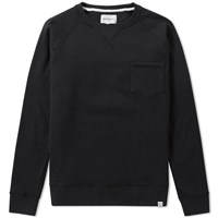 Norse Projects Vorm Hairy Crew Sweat Black