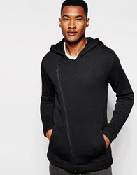 Minimum Hoodie With Asymmetrical Zip Stretchlimo