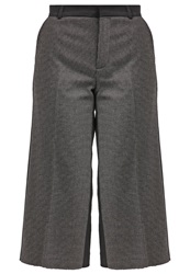 Banana Republic Trousers Black White