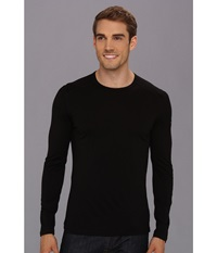 Icebreaker Oasis Long Sleeve Crewe Black Men's Long Sleeve Pullover