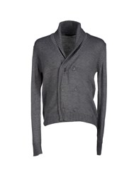 Hamaki Ho Knitwear Cardigans Men Grey