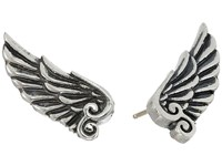King Baby Studio Wing Post Earrings Silver Earring