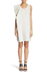 Women's 3.1 Phillip Lim Cascading Ruffle Linen Tank Dress