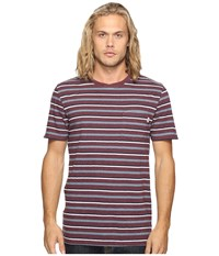 Vans Redding Short Sleeve Knit Port Royale Heather Men's Clothing Tan