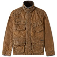 Polo Ralph Lauren Williamsburg Waxed Cotton Trail Jacket Brown