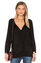 Velvet By Graham And Spencer Pazia Blouse Black