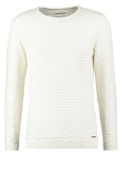 Knowledge Cotton Apparel Jumper Winter White Off White