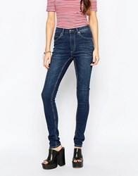 Cheap Monday Second Skin Carbon Torn Jeans Grey