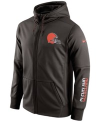 Nike Men's Cleveland Browns Circuit Full Zip Hoodie